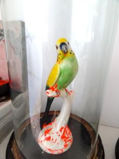 porseleinen vogeltje door Tim bewerkt