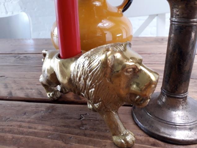 Gouden leeuw is een koopje bij H&Mhome.